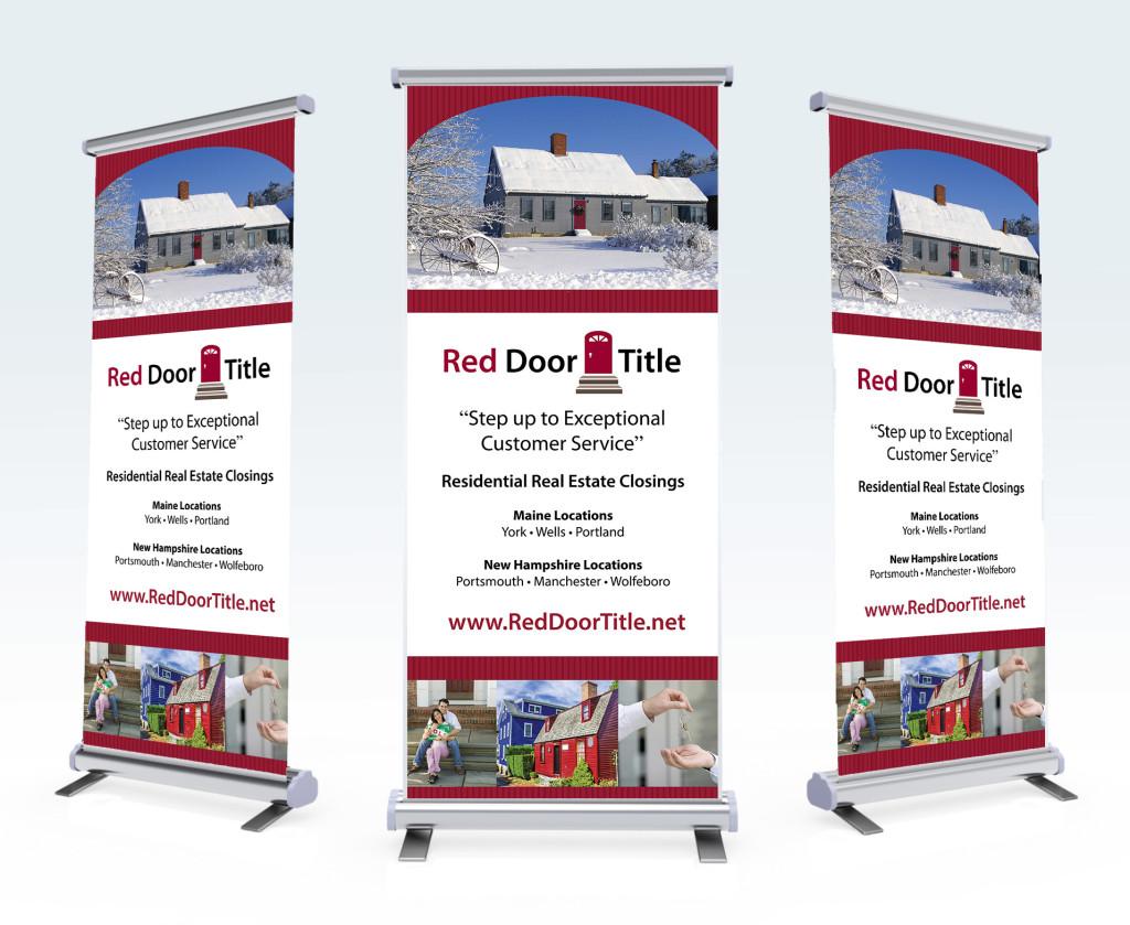 Red Door | Retractable Banner Stands