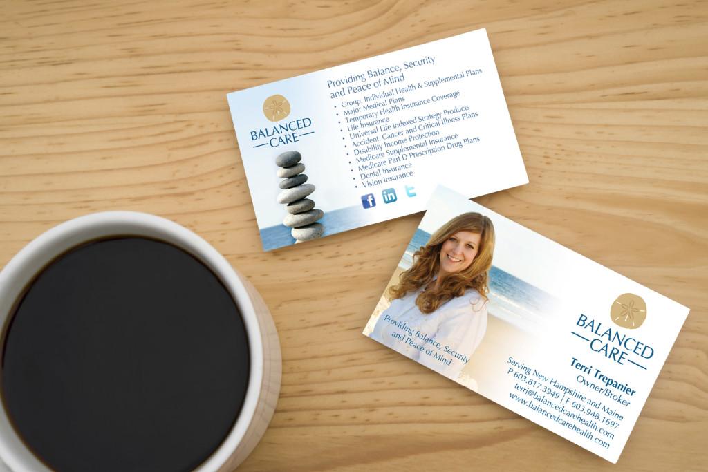 Balanced Care Health   Logo & Business Card Design