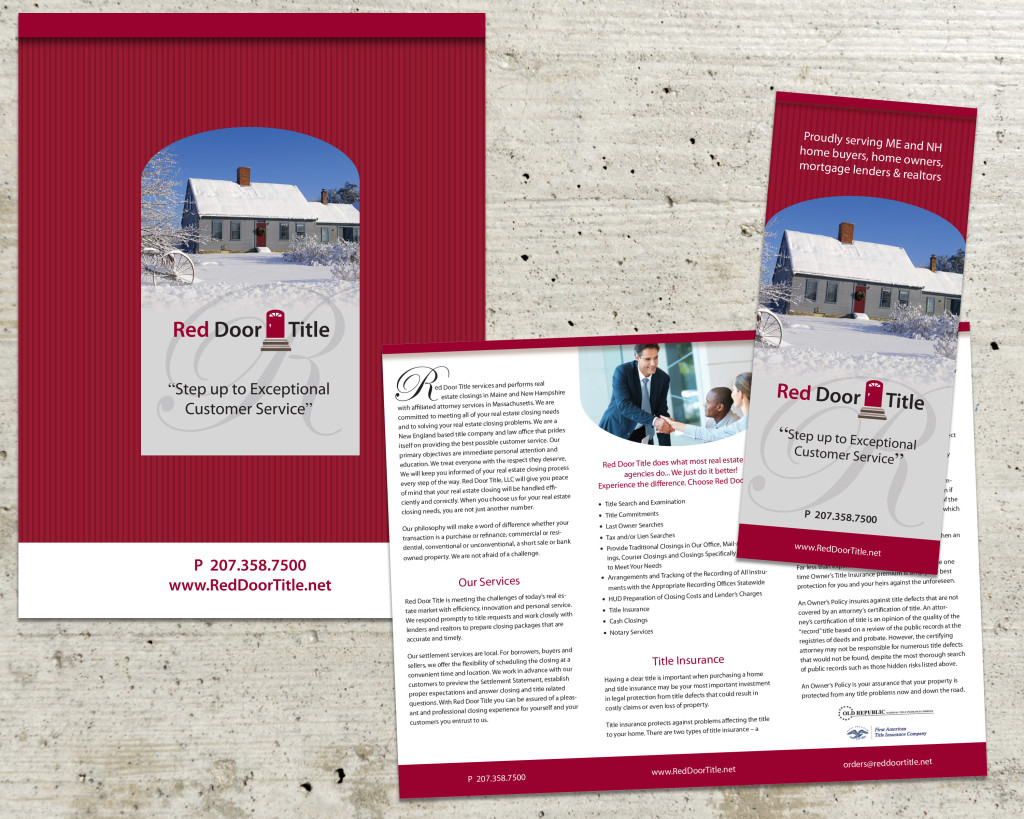 Wedgewood Graphic Design | Small Business Brochure & Marketing
