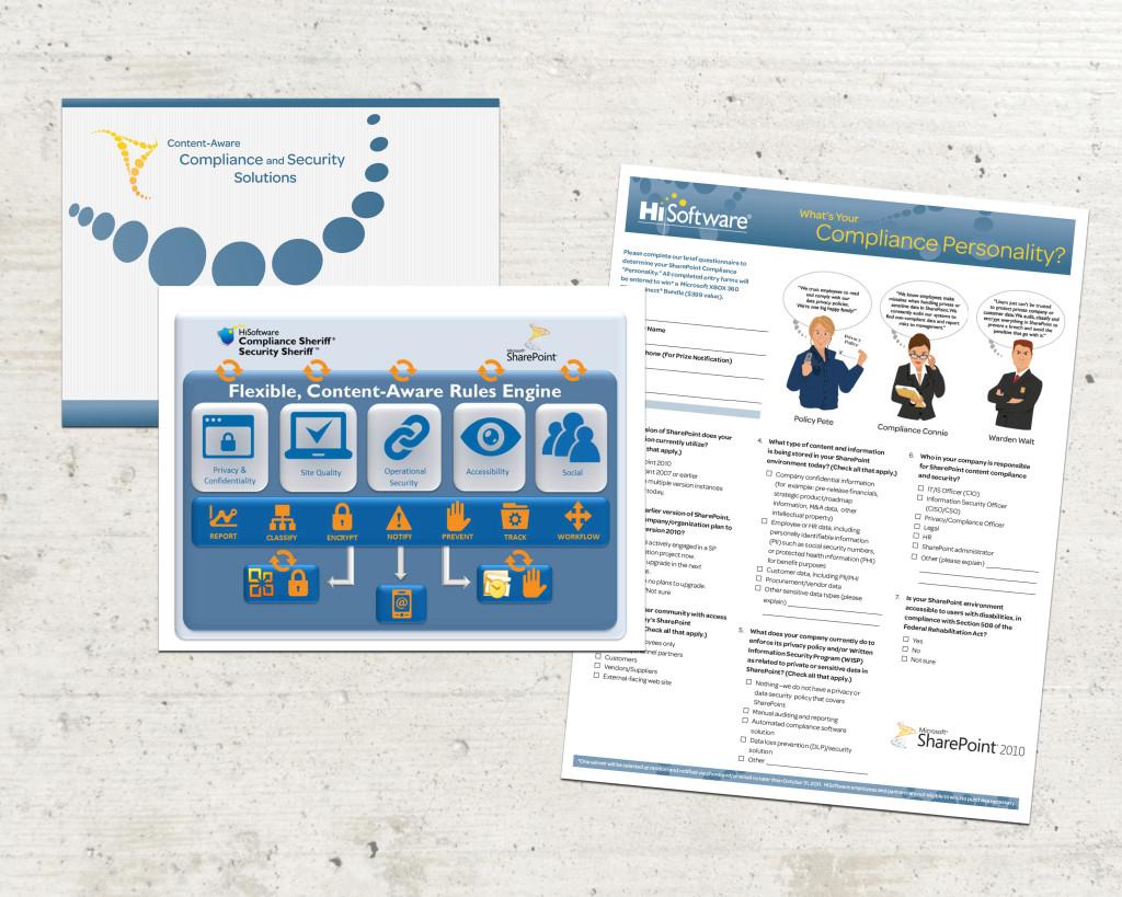 HiSoftware - Tradeshow Custom Presentation Template & Survey